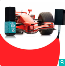 Ferrari piros géllakk